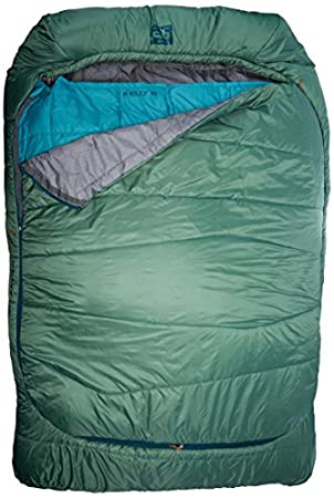 Kelty Tru.Comfort Doublewide 20 Regular Sleeping Bag top view.
