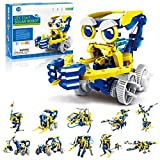 CIRO STEM Projects, 11-in-1 Solar Robot Toys, Education Science Experiment Kits for Kids Ages 8-12, 231 Pieces Building Set for Boys Girls