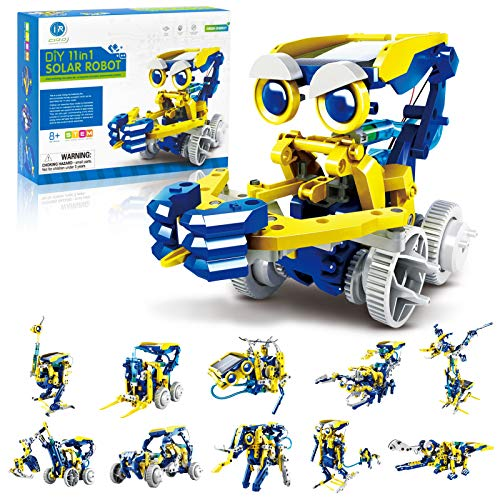 CIRO STEM Projects, 11-in-1 Solar Robot Toys, Education Science Experiment Kits for Kids Ages 8-12,...