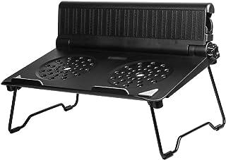 DS ⓇRefrigerador del cuaderno Soporte para computadora portátil - ABS, altura ajustable, disipación