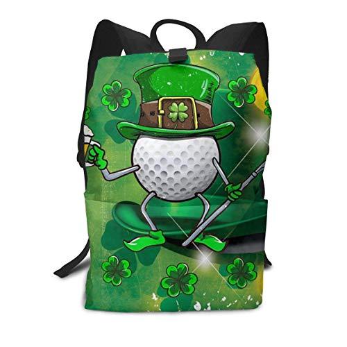 Homebe St Saint Patricks Day Leprechaun Golf-Hockey-Aufbewahrungstasche für Bücher, Reisen, Reisen, Wandern, klein, Mini-Fitnessstudio, Teenager, Kinder, Damen, Herren, Bedruckt, Gemustert