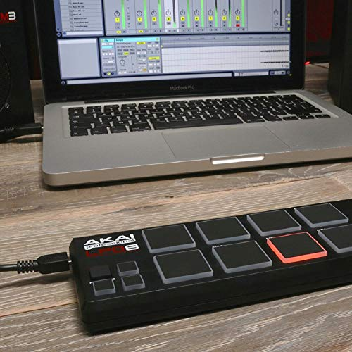 Akai Professional LPD8 | Portable 8-Pad USB MIDI Pad Controller for Laptops (Mac & PC)