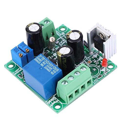 Tablero de relé Interruptor de retardo DC 7-24V On Off ciclo del temporizador de retransmisión hora del módulo de temporización ajustable 1-20S interruptor de relé Para control de automatización.