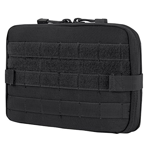 Condor T and T Pouch (Black), 7.5 H x 10 W x 1.5 D