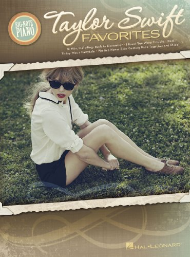 Taylor Swift Favorites (Songbook) (Big-Note Piano) (English Edition)