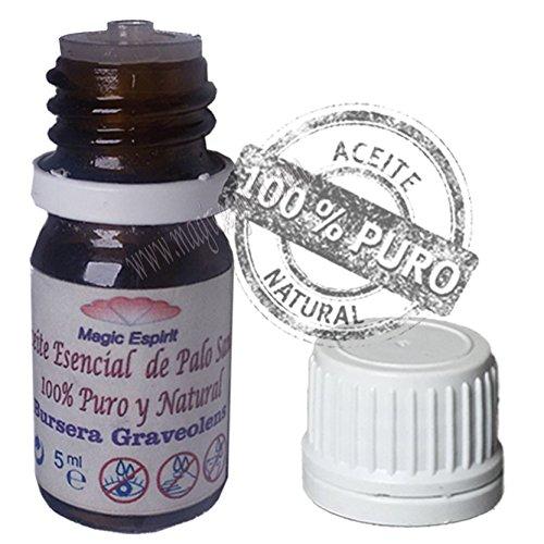 Magic Espirit Aceite de Palo Santo Brusera Graveolens Puro 100%