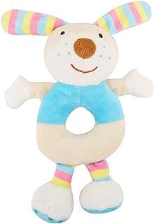 Doudou Diinglisar con coniglietto per neonati colore: Verde 35 x 35 cm Teddykompaniet 4068