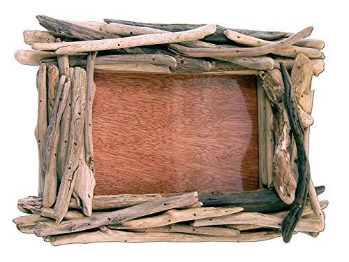 SEESTERN Treibholz Bilderrahmen für 13x18 cm Fotos Wanddeko Driftwood Holzdeko /1437