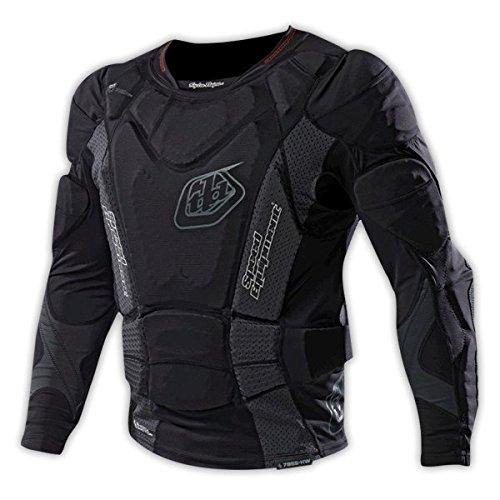 Troy Lee Designs UPL 7855 Long Sleeve - Camiseta sin Mangas de Escalada para Hombre, Color Negro, Talla M