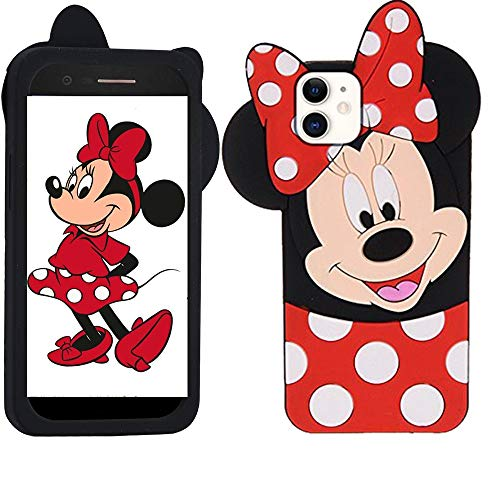 iPhone 11 Pro Max Case Cute 3D Cartoon Soft Silicone Animal Rubber Shockproof Anti-Bump Protector Lovely Kids Girls Gifts Cover Skin Shell for iPhone 11 Pro Max 6.5""