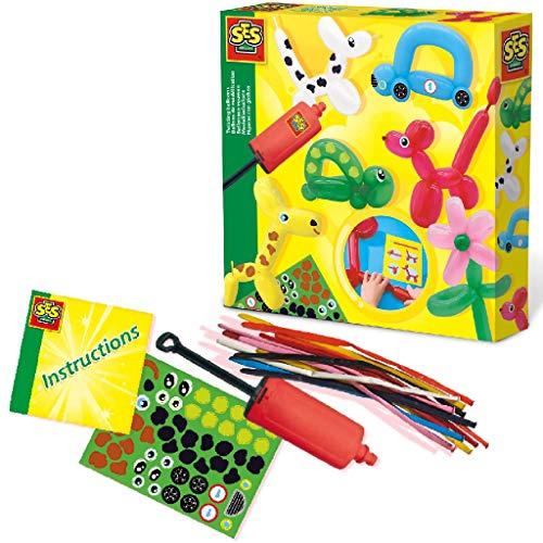 SES Creative 14017 Modellierballons Ballons modellieren, Diverse Farben