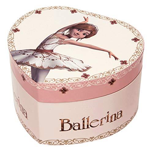 portagioie thun Trousselier S30431 Carillon Cuore Fosforescente Ballerina