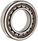 SKF NU 2222 ECP Cylindrical Roller Bearing, Straight Bore, Removable Inner Ring,...
