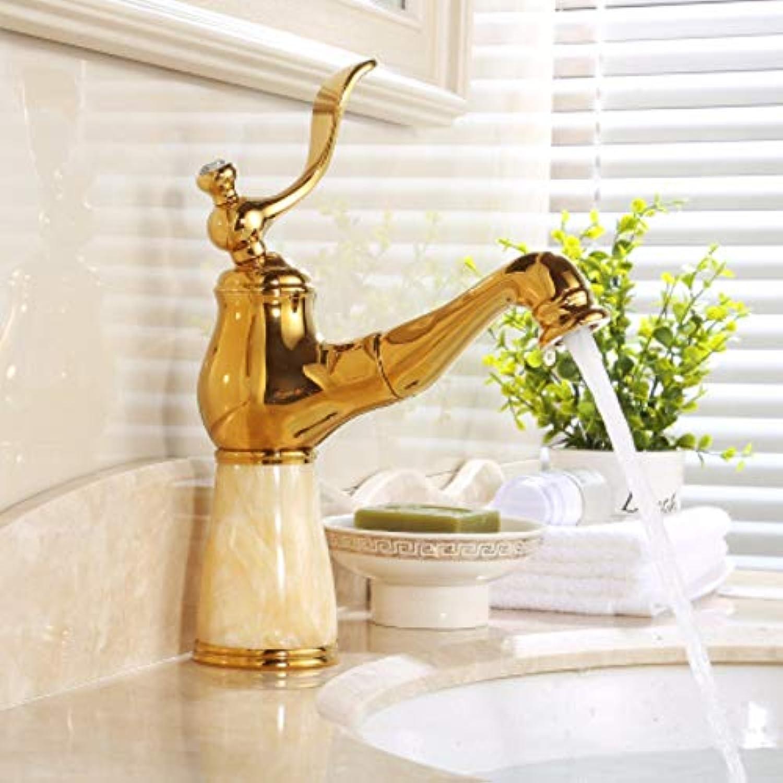 XHSSF-Badezimmerhahn Ganzkupferbadewanne im europischen Stil, universeller Kalt - und Warmwasserhahn,Y