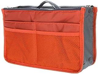 Large storage bag hot necessary women purse handbag organizer travel bag insert liner cosmetic bag