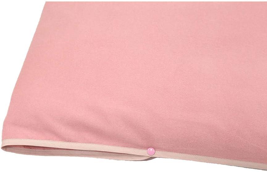 習字今カーペット敷き布団よう クイーン フラットシーツ(ボタン付き) 170x260cm公式三井毛織 国産 ピンク