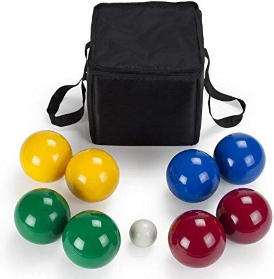 4-Player Premium Resin Bocce Ball Carry McGee's Case Set Now free shipping Chicago Mall Ave