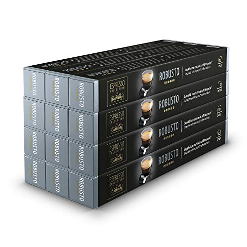 Caffitaly Espresso Collection Coffee Capsules, Robusto, 120 Pods