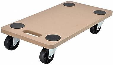 Transport-Rollbrett f/ür bis zu 40 Kg Transportroller mit 4 Lenkrollen und praktischem Tragegriff 95019