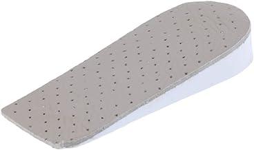 4,3cm HappyStep 1 Paire de Semelles Hauteur-Augmentation Grandissantes Detachables Semelles Talonnette Hauteur Coussin M/émoire Mousse Unisexe
