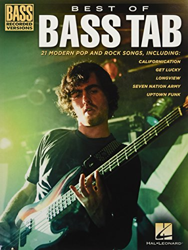 Best Of Bass Tab - Bass Recorded Versions: Noten, Songbook, Tabulatur für Bass-Gitarre