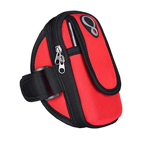 Universal Gym Workout Arm Bag Sports Arm Bag Outdoor Fitness Running Teléfono celular Bolsa de brazo para hombres y mujeres Equipo Funda de brazo Bolsa de muñeca Cinturón de brazo Jogging Fitness Tra