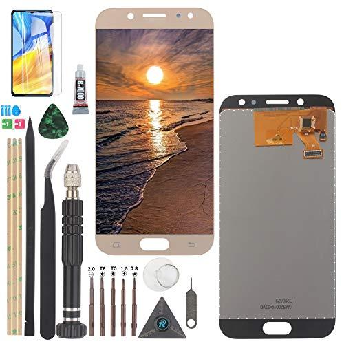 YWL-OU para Samsung Galaxy J5 LCD Display y para 2017 J530 SM-J530F J5 Pro Pantalla táctil Digitalizador con un Conjunto de Herramientaherramientas (Oro)