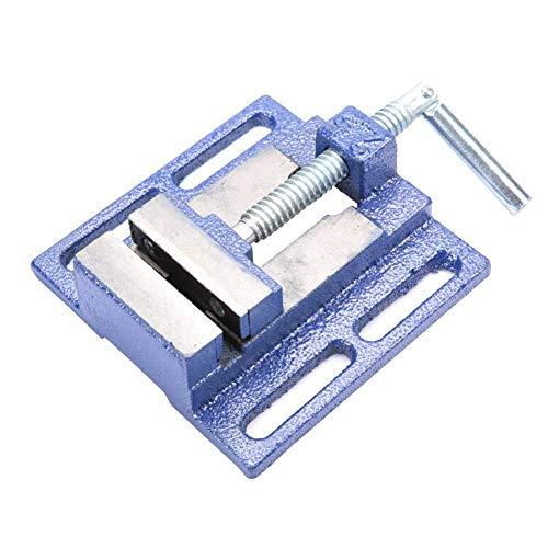 Preisvergleich Produktbild 2, 5 Zoll Vice Bench Gusseisen Zange Flat Clamp Tischbohrmaschine Schraubstock Fixture Repair Tool