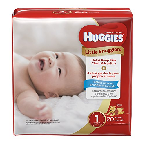 Huggies Little Snugglers Size 1 , 20 Count