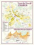 Carte des vins de Chablis et des Grands Crus