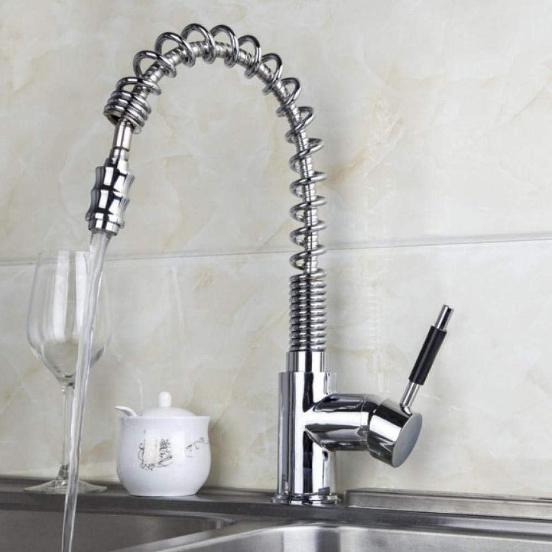 Gorheh New Chrome Küchenarmatur Auslauf Einhand-Spültischmischer Küche