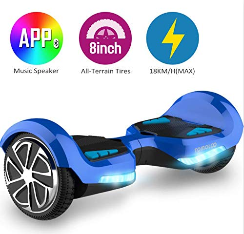 TOMOLOO Electric Smart Self Balancing Scooter Hoverboard