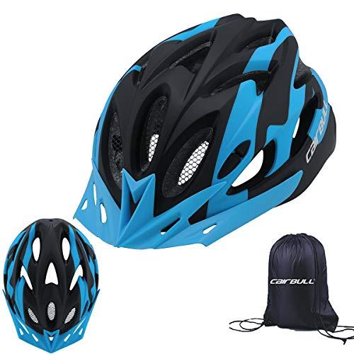 Cairbull Erwachsenes Kind Unisex Fahrradhelm Insektenschutzhelm, Krempe und Lichter tragen Schutzhelm
