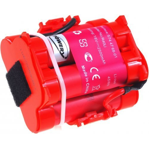 Akku passend für Rasenroboter Gardena R38-Li, R40-Li, R45-Li, R50-Li, R70-Li, R75-Li, R80-Li Rasen-Mähroboter Li-Ion, 2500mAh, 18V Batterie