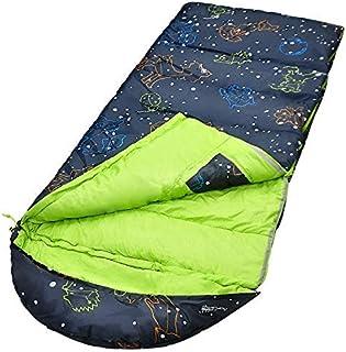 AceCamp Kids Sleeping Bag, Glow-in-The-Dark Sleeping Bag for Kids and Youth, Portable Water-Resistant Kids Sleeping Bag, T...