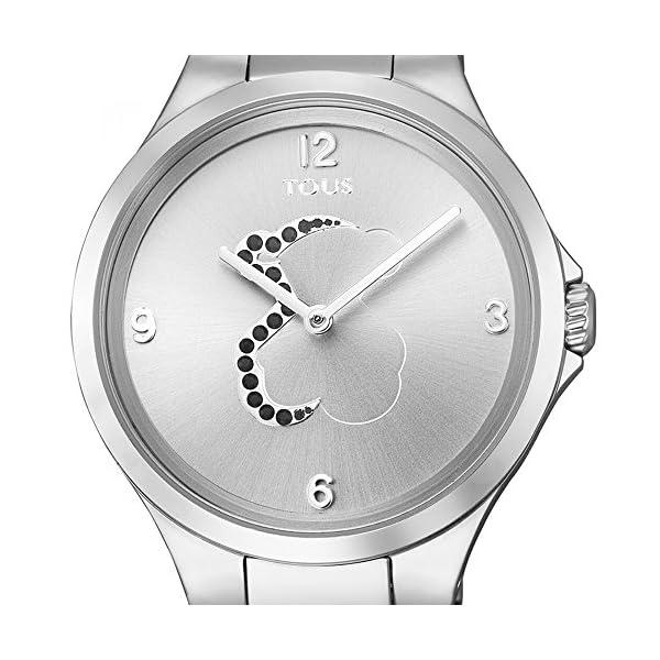Reloj Tous Motion de acero con espinelas, Ref:700350205, Diámetro de la