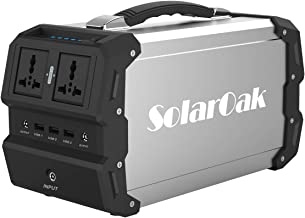 SolarOak Foldable Solar Panel with Portable Solar Charger Outdoor Water Resistant SunPower Mono-Crystalline Battery Charger for iPhone,iPad,iPod,Samsung,Camera,All Cellphone and Electronic Device 180W