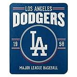 Northwest MLB Los Angeles Dodgers 50x60 Fleece Southpaw DesignBlanket, Team Colors, One Size