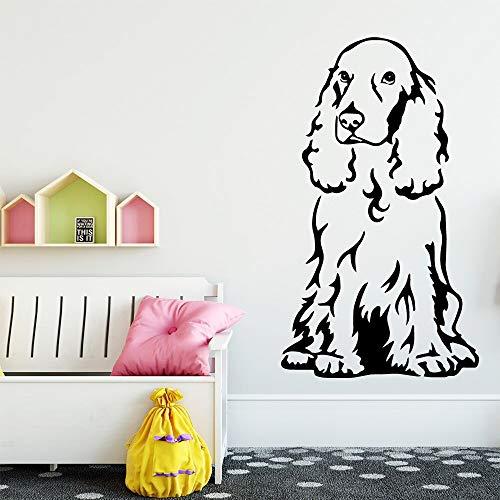 yaonuli Cartoon Hund Wandaufkleber Dekoration Aufkleber in Kinderzimmer Hintergrundbild Kunst Aufkleber 30x51cm