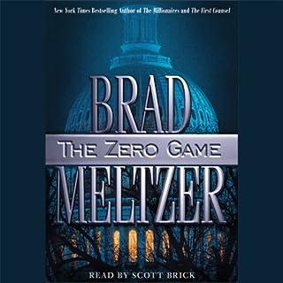 The Zero Game audiobook cover art