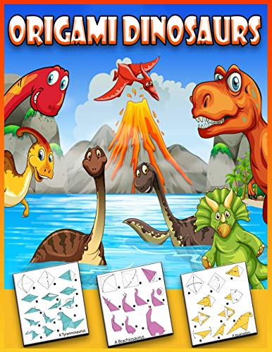 Origami Dinosaurs: Origami Dinosaurs for Beginners | Nature Origami | How to Make Paper Dinosaurs Step-By-Step
