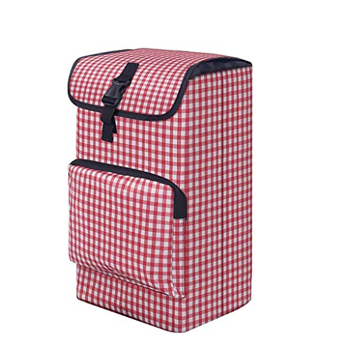DYB Shopping Trolley Replacement Bag Shopping Cart Bag with Side Pockets Spare Bag for Trolley,Oxford Cloth Waterproof Storage Bag (Size: 30 × 22× 45cm) 30L