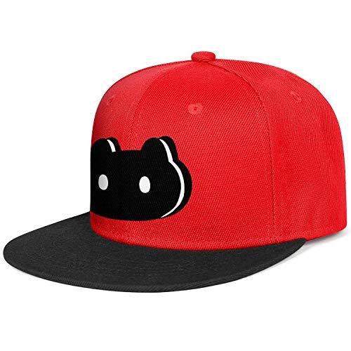 Men's Woman Steven-Universe-Cookie-Cat-Black- Cap Trendy Hats Running Caps