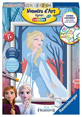 Ravensburger – Número de Arte – pequeño tamaño – Disney Frozen 2 – Anna – Ocio Creativo – Pintura – niño a Partir de 7 años – 27685