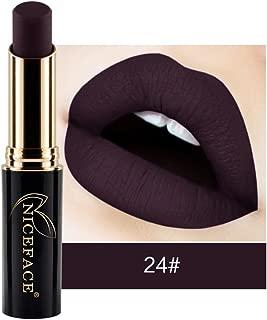 Gracefulvara Makeup Waterproof Matte Velvet Lipstick Long Lasting 24#