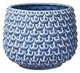 Bloomingville Macetero, azul transparente, cermico