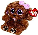 TY TY00005 - Soporte para teléfono móvil con modelo de perro de peluche Zelda, color marrón , color/modelo surtido