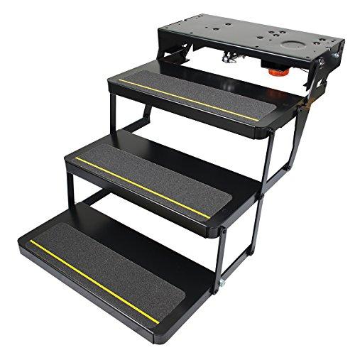 Kwikee 369552 25 Serie (17,8 cm Steigung) Stufenmontage mit Logiksteuergerät und Netzschalter-Kit, Regular