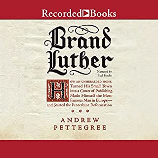 Brand Luther audiobook cover art