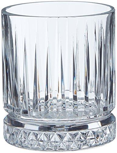 Pasabahce 520004 - Bicchiere da Whisky in Stile retrò con Cristalli, per Whisky, Cocktail, Succo, Acqua, Drink, tumori Pesanti, Altezza: 10 cm, V~355 ml, 2 Pezzi